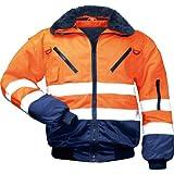 NORWAY 23649 Sicherheitsausrüstung und-kleidung, Orange/Marine, (L)