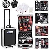 TRESKO Werkzeugkoffer 949 teilig | Werkzeugkasten | Werkzeugkiste | Werkzeugtasche | Werkzeug Set | Werkzeug-Trolley | Chrom-Vanadium Stahl
