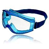 Dräger Schutzbrille X-pect 8520 | Beschlagfreie Vollsichtbrille auch für Brillenträger | Für Baustelle, Labor,...