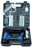 Scheppach Druckluftpistole 2in1 Klammer und Nagelpistole (Nägel bis 50mm, Klammern bis 40mm, Luftbedarf je Schuss 1,5L...