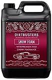 Dirtbusters Snow Foam Shampoo, Reinigungsschaum - professioneller Autopflegereiniger - sicher, ungiftig, mit...