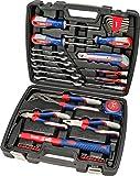 kwb Werkzeug-Koffer inkl. Schrauber-Bits, 42-teilig, gefüllt, robust und hochwertig, ideal für den Haushalt o. die...