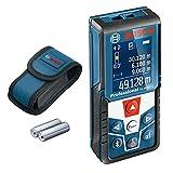 Bosch Professional Laser Entfernungsmesser GLM 50 C (Bluetooth-Datentransfer, Flächen-/Volumenberechnung, max....