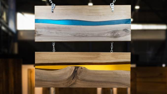 Epoxidharz - auch für Tischplatten geeignet